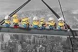 Geschenkideen Despicable-Me-Minions-Skyscraper-%C3%9C-Poster