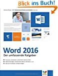 Word 2016: Das große Handbuch. Mit di...