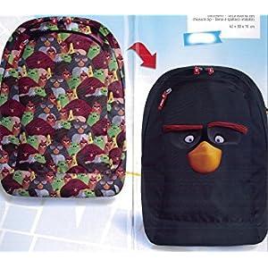 TOYLAND Accademia 50500Mochila Angry Birds Reversible