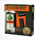 Jägermeister mit 2 Shot-Gläser 2CL in schwarz (1 x 0,7l)