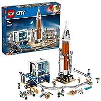La Space Agency di LEGO City ha bisogno di te Preparati per il decollo del Razzo spaziale con gli scienziati e gli astronauti della base di lancio ispirata alla NASA. Prova il rover per assicurarti che sia pronto per raccogliere i campioni di geodi m...