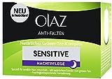 Olaz Anti-Falten Sensitive Nachtcreme Tiegel, 50 ml
