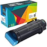 Do it Wiser Toner Kompatibel für Dell H625 cdw H825cdw S2825cdn | 593-BBSD Cyan