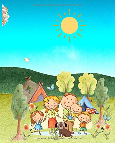 Mein Reise-Abenteuer-Tagebuch: Notizbuch für Kinder mit Seiten zum Ausfüllen,Einkleben,Schreiben,Zeichnen und Ausmalen (Zeichnen Tagebuch Schreiben Und)