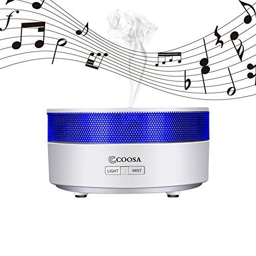 COOSA Aroma Mist ultrasuoni diffusore Bluetooth Speaker