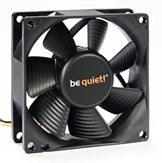 be quiet! Silent Wings Pure, 80mm Carcasa del Ordenador Ventilador - Ventilador de PC (80mm, Carcasa del Ordenador, Ventilador, 8 cm, 1800 RPM, 17,5 dB, 24,7 cfm) (B003KWOG5A) | Amazon price tracker / tracking, Amazon price history charts, Amazon price watches, Amazon price drop alerts