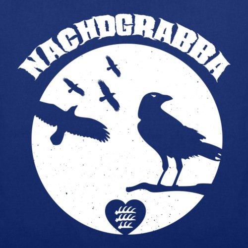 Spreadshirt Schwoba Nachdgrabba Schwäbischer Dialekt Stoffbeutel Royalblau