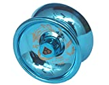 #10: Glossy Metal Yo-Yo With Blazing Speed Smooth Spin-Bl