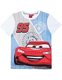 Disney Cars Jungen T-Shirt - weiß