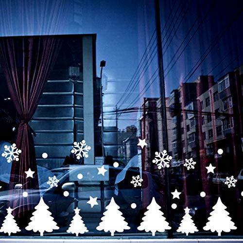 Weihnachten Fenstersticker, Harpily Weihnachtsaufkleber Fensteraufkleber Pvc Fensterbilder Weihnachten Fensterdeko Selbstklebend Fensterfolie Weihnachtsdekoration
