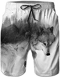 NEWISTAR Homme Short Bain Shorts Séchage Rapide Respirant Exercice Shorts  Etanche daa6f44717d