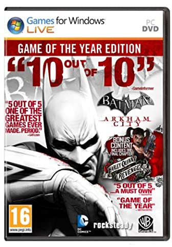 Batman: Arkham City - Game of the Year Edition [Online Steam Code]