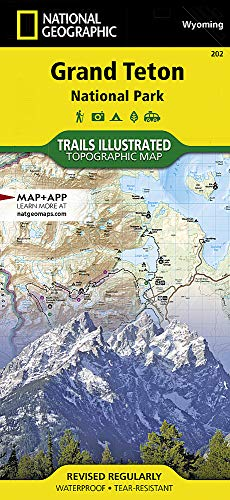 Grand Teton National Park: Trails Illustrated National Parks (National Geographic Trails Illustrated Map, Band 202)