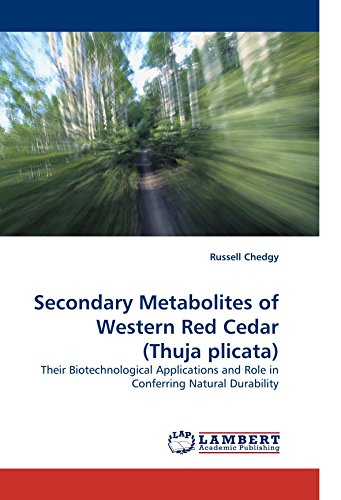 Secondary Metabolites of Western Red Cedar (Thuja plicata): Their Biotechnological Applications and Role in Conferring Natural Durability
