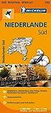 Michelin Niederlande Süd: Straßen- und Tourismuskarte 1:200.000 (MICHELIN Regionalkarten)