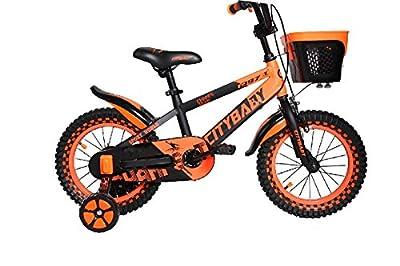 OCCMFZD Kinderrad Mit Trainingsrad Junge Und Mädchen Fahrrad 12inch Für 3-5 Jahre Altes Kind (Color : Orange)