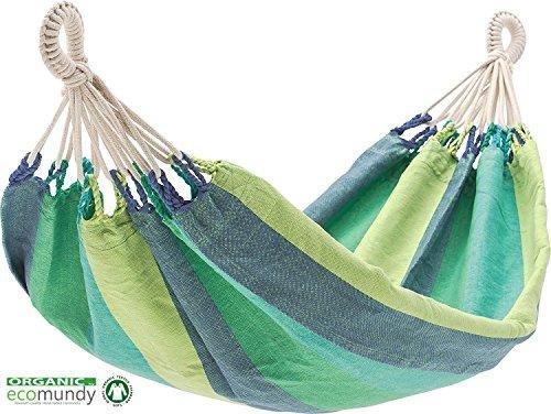 Luxus Baby Hängematte - Biologische Baumwolle - Handgewebt - GOTS zertifiziert - Ecomundy