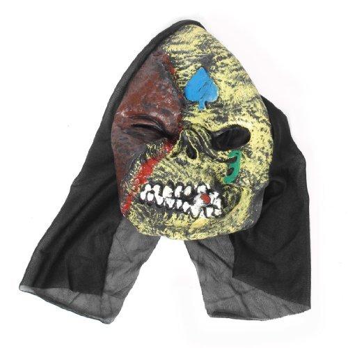 (Schädel-Art-Schreckens-Dämon Full Face Maske Horrific Halloween-Party)