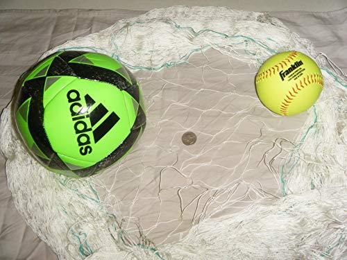 Angeln Net, Fußball, Basketball, Käfig, Ziel, Barrier, Netzen. Wählen Sie Ihre Größe, weiß