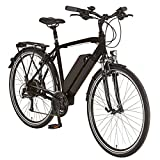 Elektrofahrrad Prophete E-Bike Moreno Trekkingrad |36V 250W Heckmotor bürstenlos |inkl. Faltschloss & Handy-Rahmentasche| 24-Gang Shimano Altus |28