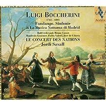 Boccherini: Fandango, Sinfonie... (Sacd);  Jordi Savall