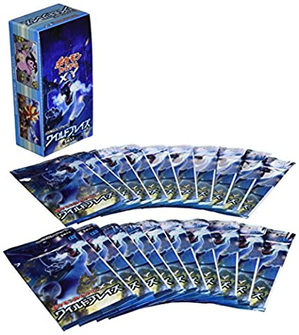 Pokemon Card Game XY Expansion Pack - Wild Blaze 20 Pack BOX [Trading Cards][Japanische Importspiele]