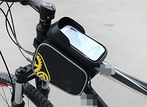 OGTOP Mountainbike-Handy Touch-Screen-wasserdichte Fronttasche Satteltasche Reitzubehör 3