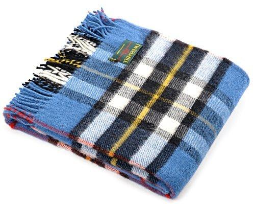 Kleid Thompson Tartan Wolle Reisen Teppich Picknick Decke-Tweedmill