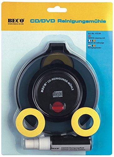 Beco nassrein igungs Sistema CD DVD Fluid, caja expositora
