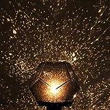 Lorenlli Stern Nachtlichtprojektor, Sternenhimmel Projektor Licht Kosmos Konstellation Sterne Projektionslampe Romantische LED Nachtlichtprojektor Lampe