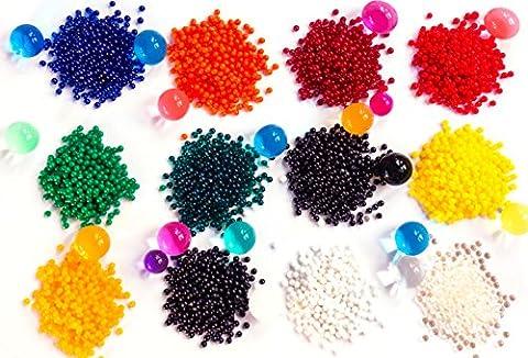 Zenball 4.500 Wasserperlen Aqualinos Perlen Gelperlen in 12 Farben |