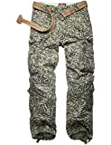 Match Men's Retro Casual Cargo Trousers #3357