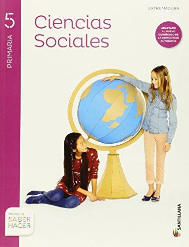 Ciencias sociales + atlas extremadura 5 primaria santillana