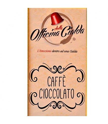 100 capsule caffè cioccolato compatibili nespresso, capsule gusto caffè cioccolato compatibili nespresso, kit 100 capsule compatibili macchine nespresso, capsule compatibili gusto caffè cioccolato