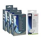 Jura 71794 + 61848 Kombi-Pack, Claris Filterpatrone Smart (3 x 3er-Pack) + 3er Entkalkungstabletten