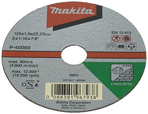 Makita P-40060-10 Trennscheibe 125x1,5mm Stein