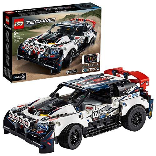LEGO 42109 Technic La voiture de rallye contrôlée CONTROL+ RC Racing Cars