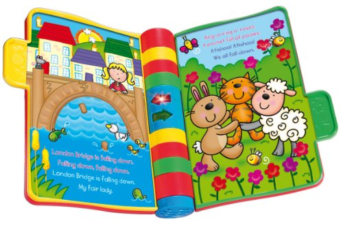 Image of VTech Baby Nursery Rhymes Book - Multi-Coloured