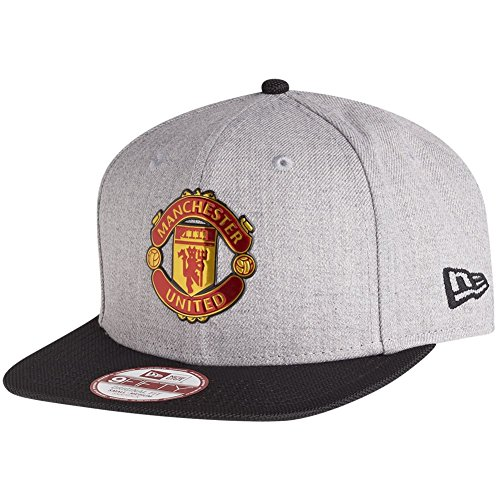 New Era Ballistic 9Fifty Snapback Manchester United Grau Schwarz, Size:S/M Manchester United Fashion