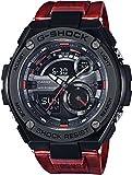 Casio Mens Multi Zifferblatt Quarz Uhr mit Harz Armband GST-210M-4AER