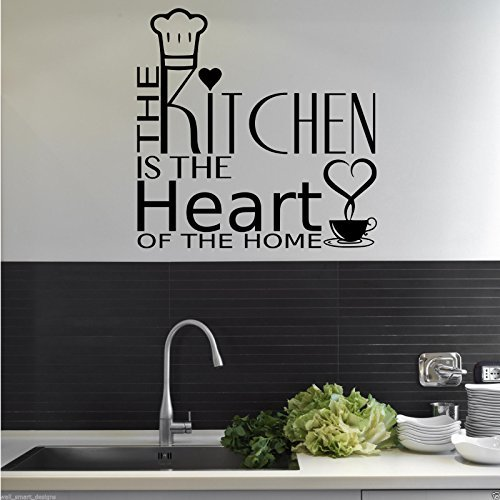 kitchen stencils and wall art amazon co uk