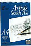 Artists A4 Sketch Pad Wiro Bound - 100 Sheets (297mm x 210mm)