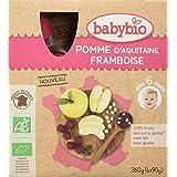 Babybio Gourdes Pomme Framboise 36 g -