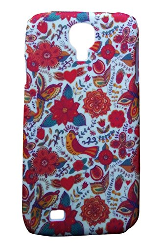 Floral Fashion Designer Print Snap-On Hard Slim Back Flexible Bumper Case Cover For Samsung Galaxy S4 I9500  available at amazon for Rs.149