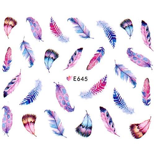 Saint-Acior Stickers autocollants à ongles Nail Sticker Tattoo Stickers Pour Ongles Nail Outils Artistiques décoration d'ongles Manucure #15