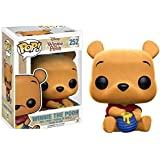 Funko - Figurine Disney Winnie L'Ourson - Winnie L'Ourson Flocked Exclu Pop 10cm - 0889698121286
