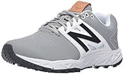 New Balance Men's 3000v3 Baseball Turf Shoes, Greywhite, 7.5 Uk41.5 Eu
