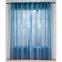 Rioma Alejandra – Visillo con ollados, 140 x 270 color azul