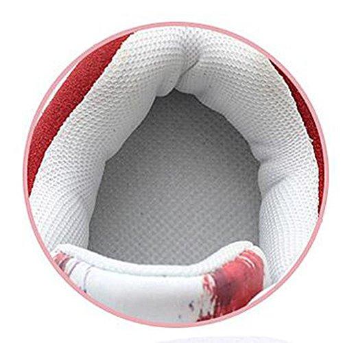 Mr. LQ - Moda Scrub casuale Sneaker DONNA White