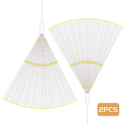 2PCS LH - BOM - YHD150WW 150-LED Regulable Starburst Lámparas de cadena para la decoración
